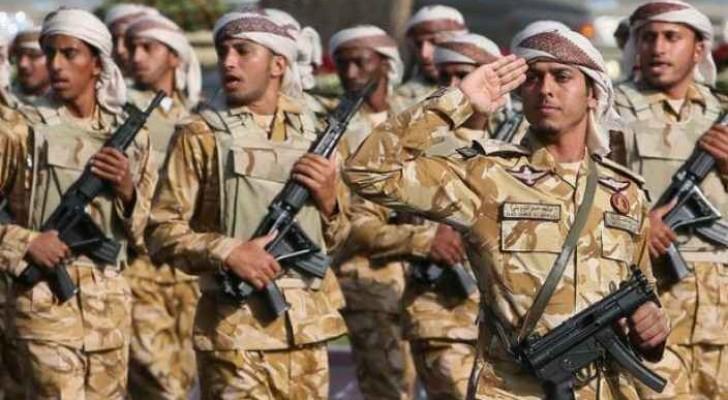 أفراد من الجيش القطري