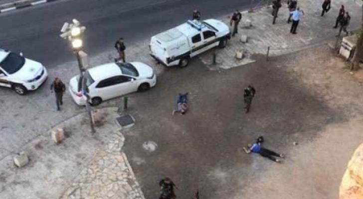 منفذي العملية بعد أن اطلقت الشرطة النار عليهم