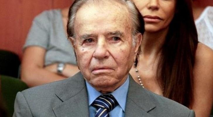الرئيس الارجنتيني الاسبق كارلوس منعم