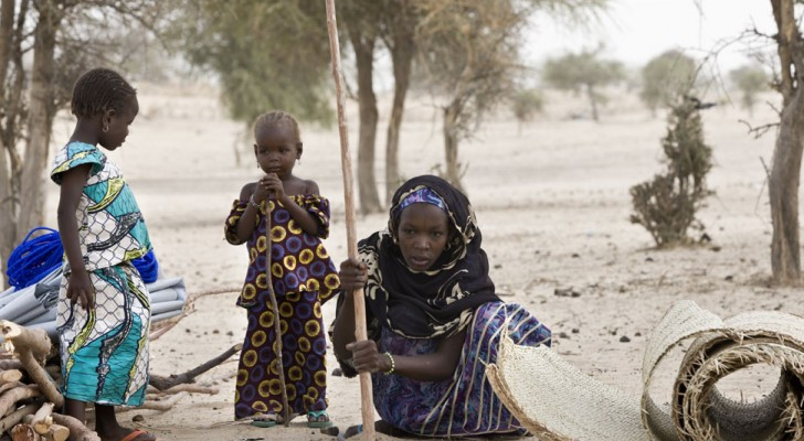 مخيم بمنطقة ديفا في النيجر
