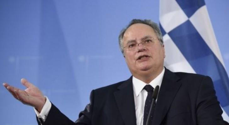 وزير الخارجية اليوناني نيكوس كوتزياس