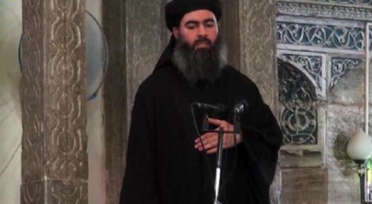 زعيم تنظيم داعش الإرهابي ابو بكر البغدادي
