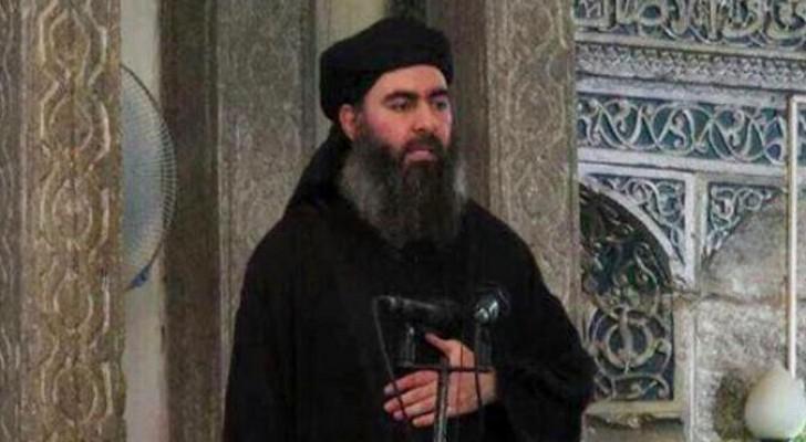 زعيم عصابة داعش الإرهابية ابو بكر البغدادي