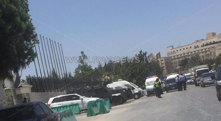 الأمن يتواجد بكثافة في عبدون