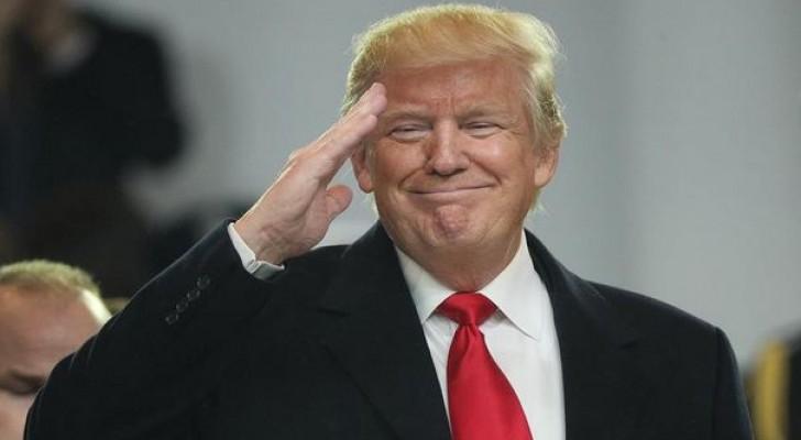 الرئيس الامريكي دونالد ترمب