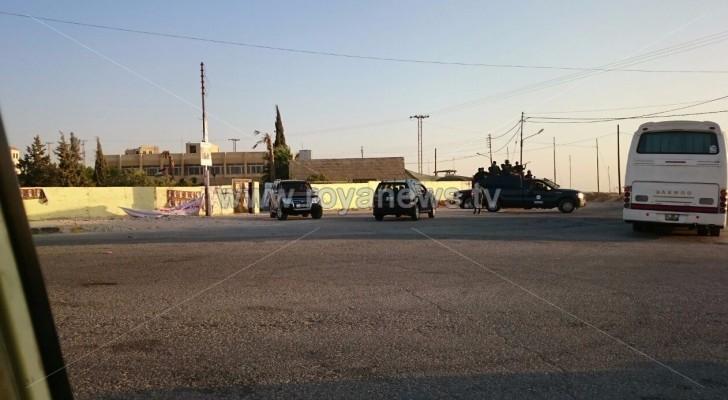 تعزيزات أمنية إضافية إلى الموقر بعد الاعتداء على صناديق الاقتراع