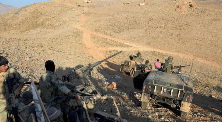 قوات لبنانية في المعركة