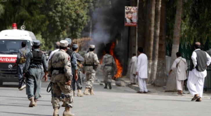 مقتل 3 ضباط شرطة إثر انفجار لغم غربي أفغانستان