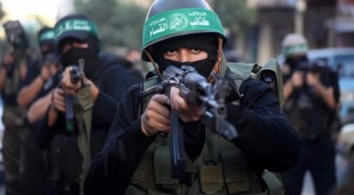 مقاتلون بكتائب عز الدين القسام - الجناح العسكري لحركة حماس