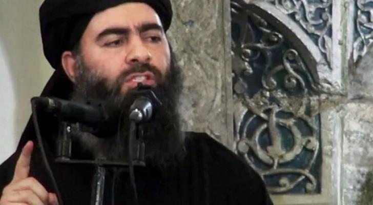الصورة الوحيدة للبغدادي منذ أن نصب زعيما لداعش