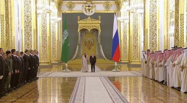 انطلاق أعمال القمة الروسية السعودية في موسكو