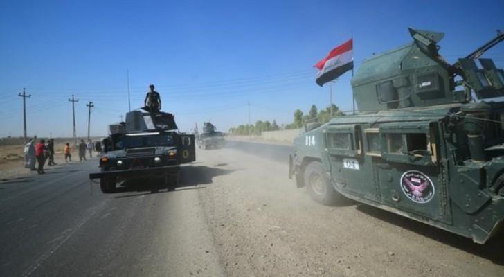 عربات عسكرية للجيش العراقي
