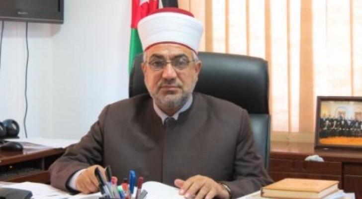 مفتي عام المملكة سماحة الدكتور محمد الخلايلة