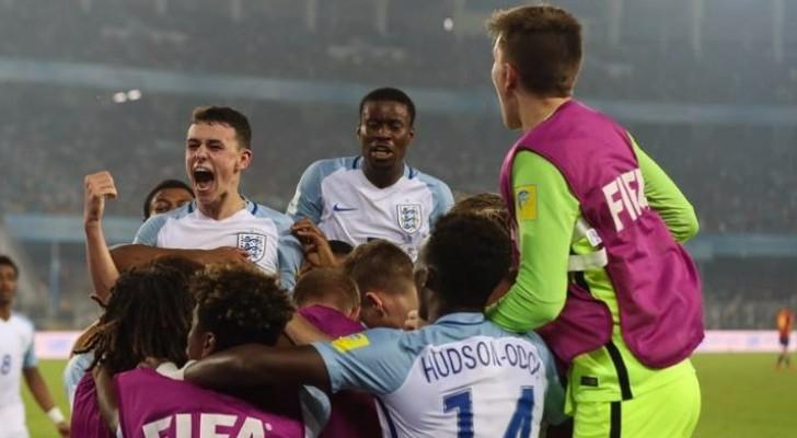 إنجلترا تتوج بمونديال العالم تحت 17 عاماً