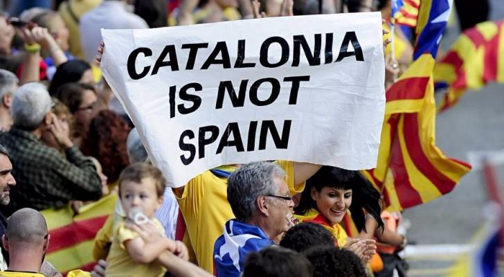 من مسيرات كتالونيا