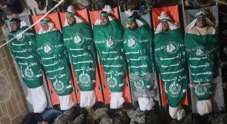 شهداء نفق غزة