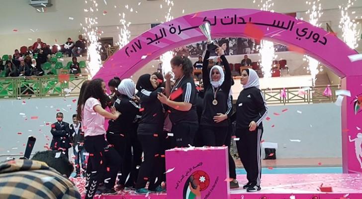 حرثا يتوج بلقب الدوري النسوي لكرة اليد