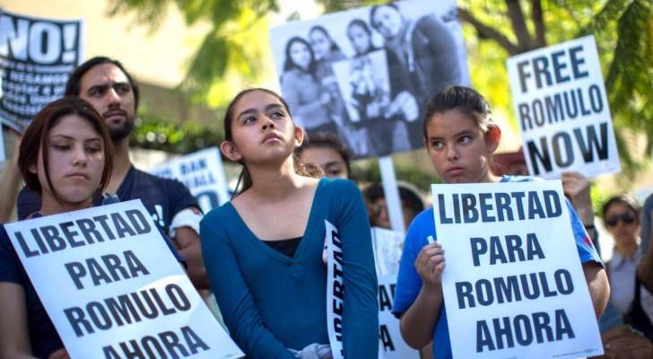 مهاجرون من أميركا الوسطى يعترضون على سياسة الترحيل الأميركية