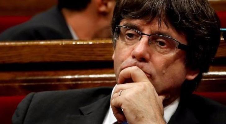 رئيس كاتالونيا المقال كارليس بوتشيمون