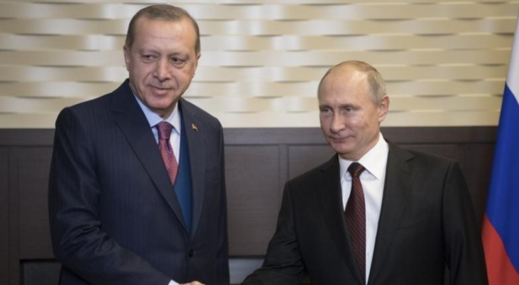 الرئيسان التركي والروسي