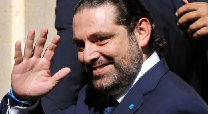 رئيس الحكومة اللبناني المستقيل سعد الحريري
