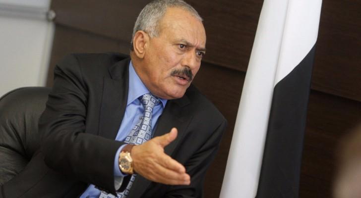 الرئيس اليمني السابق، علي عبدالله صالح