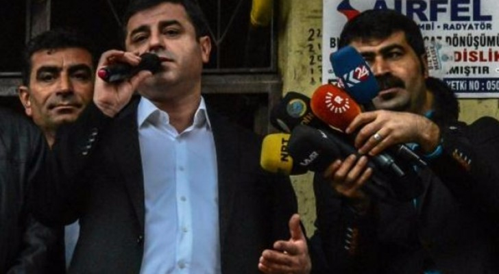 بدء محاكمة دميرتاش زعيم أكبر حزب تركي مناصر للأكراد