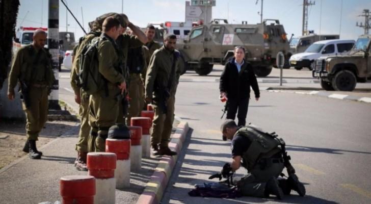 إطلاق النار على فلسطيني بحجة محاولته تنفيذ عملية طعن قرب نابلس