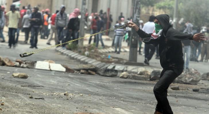 من مواجهات الفلسطينيين وقوات الاحتلال
