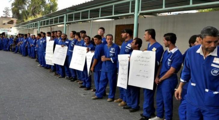 توقف العمليات الجراحية بغزة لتوقف شركات النظافة عن العمل
