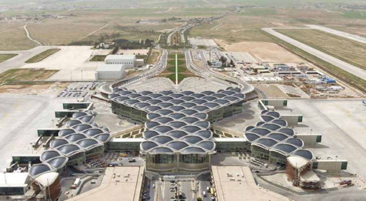 مطار الملكة علياء- ارشيفية