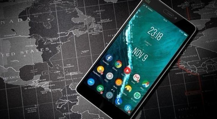 هاتف محمول بنظام أندرويد (أرشيف)