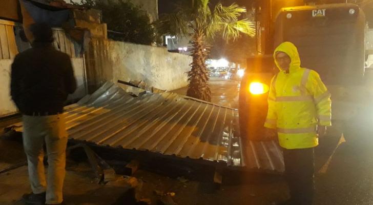 عمان تسجل أقوى سرعة للرياح
