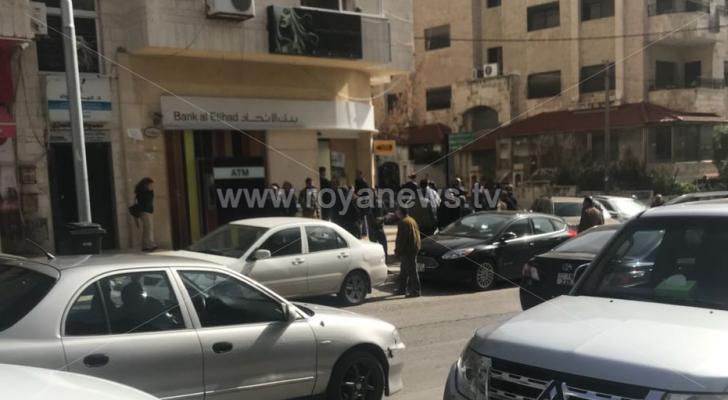 تعرض بنك الاتحاد في عبدون لسطو مسلح
