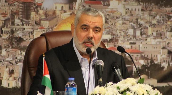 الخزانة الأميركية تدرج إسماعيل هنية على لائحة الإرهاب