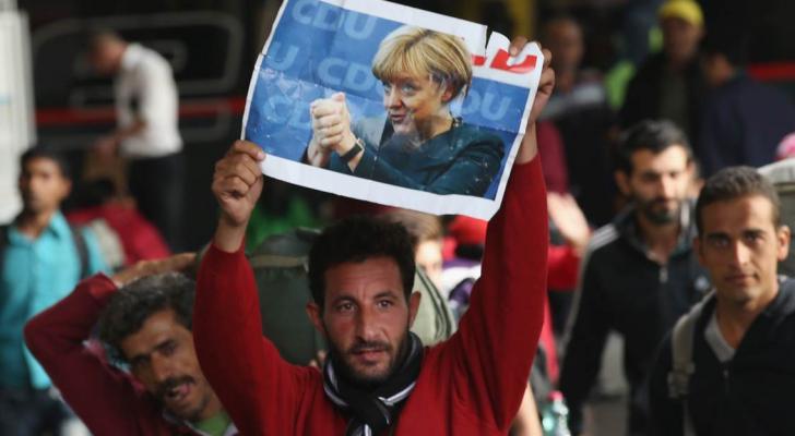 لاجئ سوري في المانيا