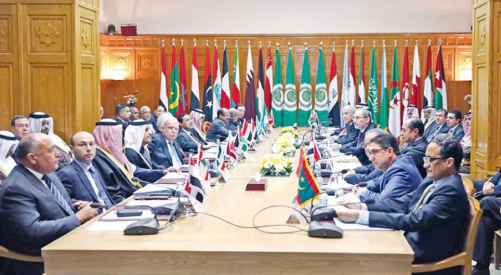 جانب من اجتماع وزراء الخارجية العرب