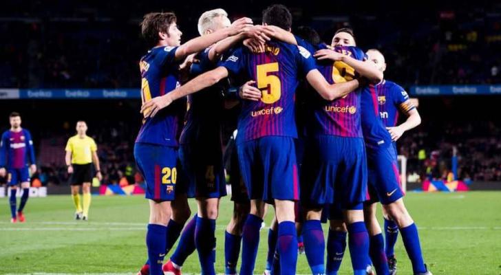 برشلونة يمشي بخطى ثابتة هذا الموسم