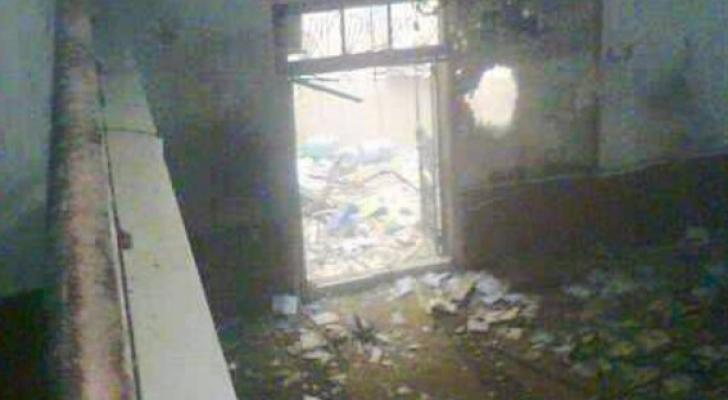 التفجير تم عن بعد بعبوة ناسفة
