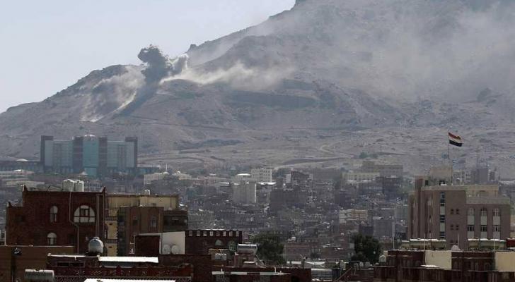 غارة للتحالف تستهدف مليشيات الحوثي