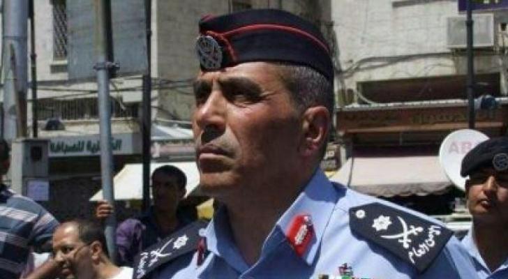 مدير الامن العام اللواء فاضل محمد الحمود - ارشيفية