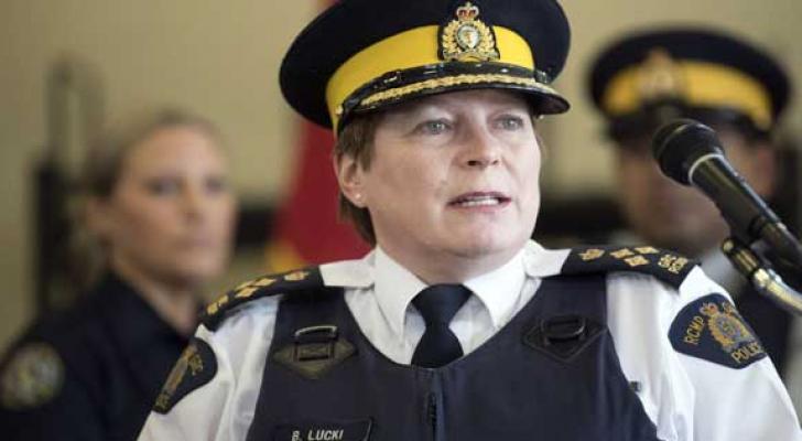 تعيين امرأة قائدة الشرطة في كندا