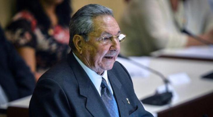 الرئيس راوول كاسترو