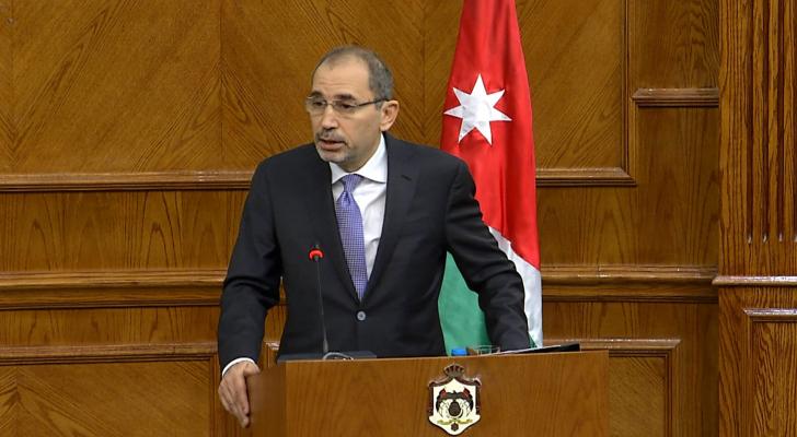 وزير الخارجية وشؤون المغتربين أيمن الصفدي - ارشيف