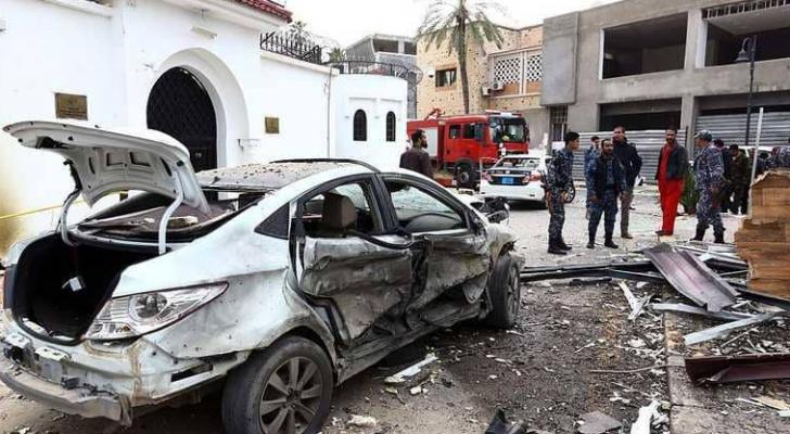 تفجير سابق في ليبيا - ارشيفية