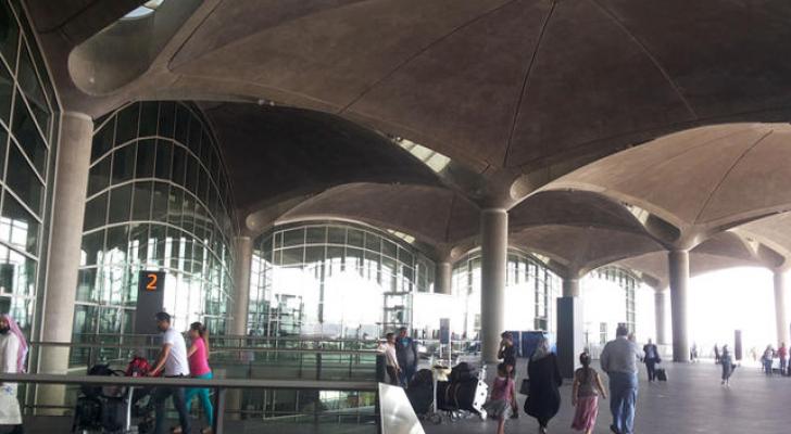 مطار الملكة علياء الدولي يحقق أرقاما قياسية في حركة المسافرين