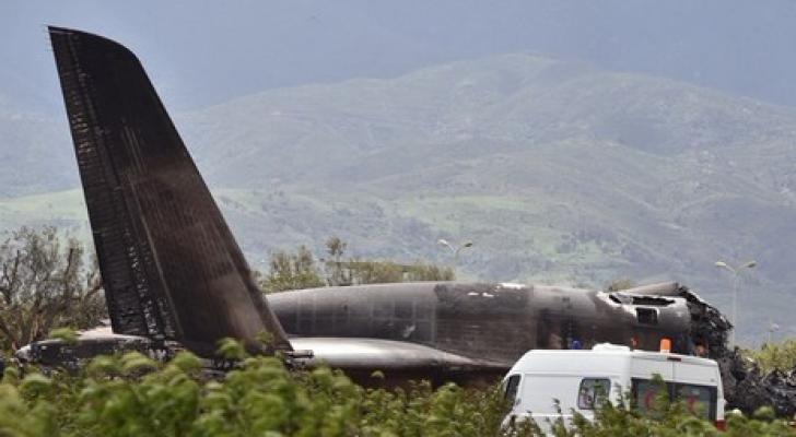 مقتل 257 شخصاً في حادث تحطم طائرة عسكرية