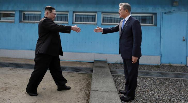 زعيم وري الشمالية والرئيس الكوري الجنوب