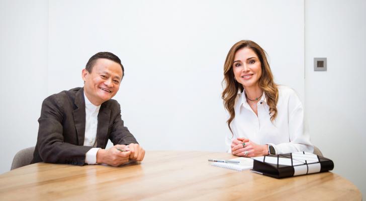 """مؤسسة جاك ما تعلن عن دعم منصة """"إدراك"""" وأكاديمية الملكة رانيا لتدريب المعلمين"""