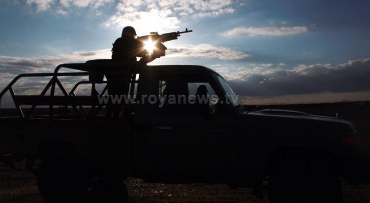 دورية للجيش على الحدود مع سوريا ( ارشيف رؤيا)